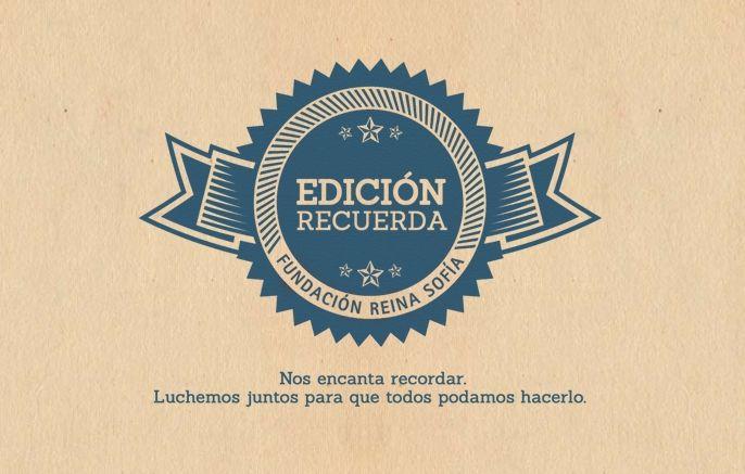 Juanola colabora en la campaña «Edición Recuerda» de la Fundación Reina Sofía