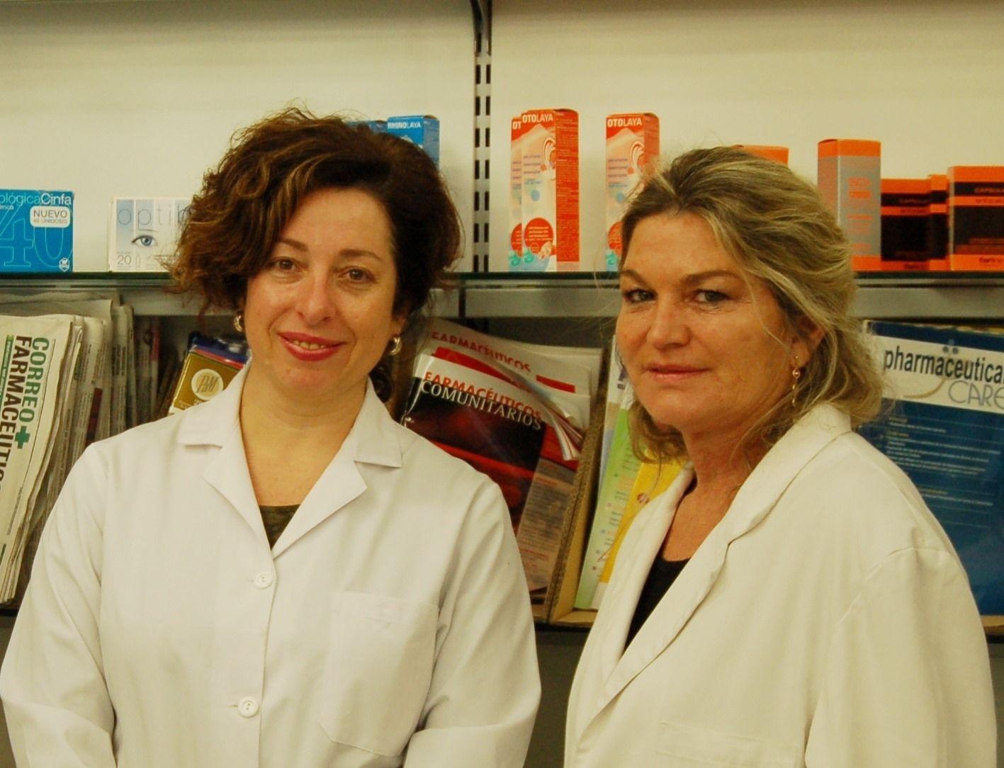 Lucrecia Moreno y María Teresa Climent
