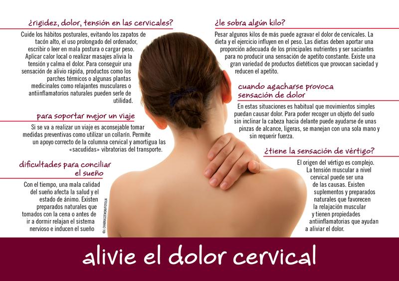 tratamiento para dolor de cervical