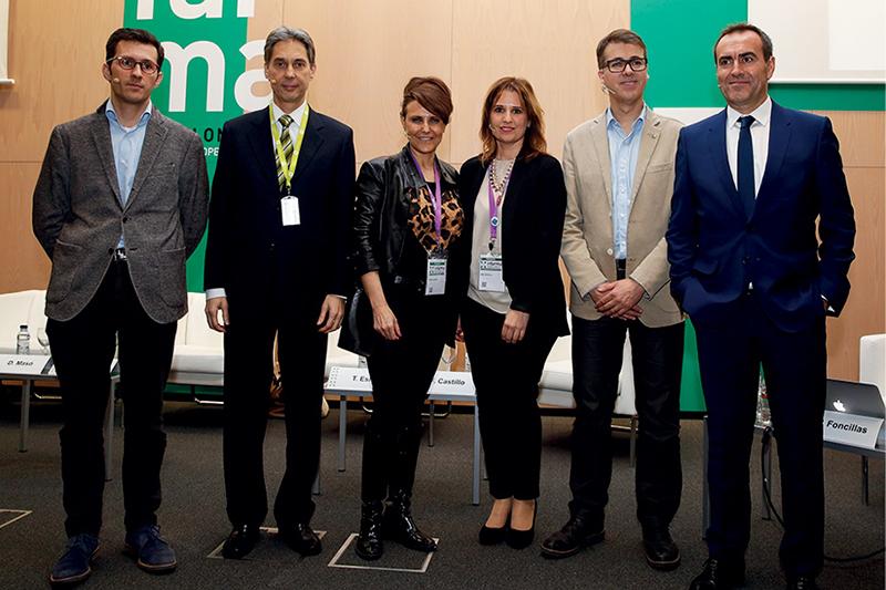 Pablo Foncillas, Fernando Castillo, Rosalía Gozalo, Gema Herrerías, David Masó y Tony Eslava
