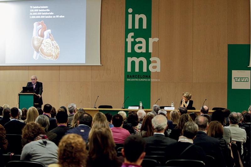 Josep Brugada, durante la conferencia inaugural