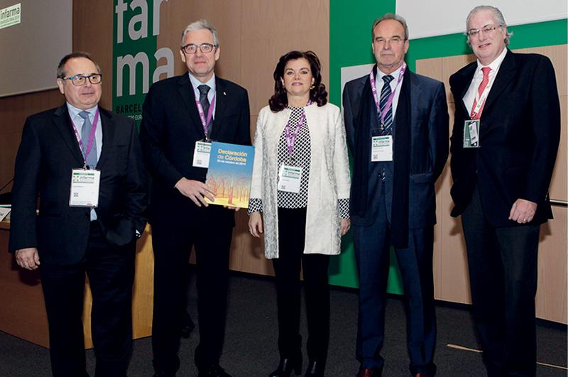 Lluís Triquell, Jordi de Dalmases, Carmen Peña, Fernando Martínez y Miguel Ángel Gastelurrutia