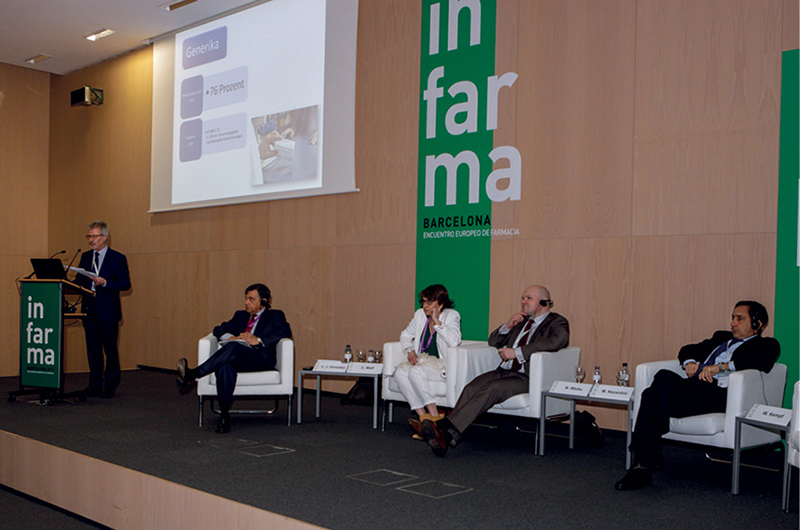 Wolfgang Kempf, Luis González, Carine Wolf, Noel Wicks y Marco Nocentini