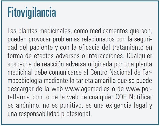 Rol del farmacéutico en la dispensación fitoterapéutica