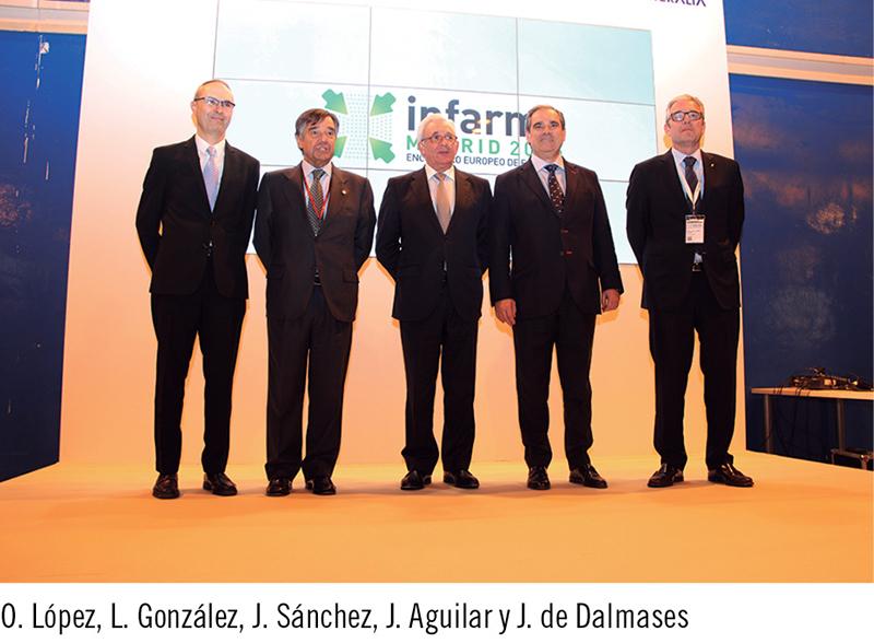 O. López, L. González, J. Sánchez, J. Aguilar y J. de Dalmases
