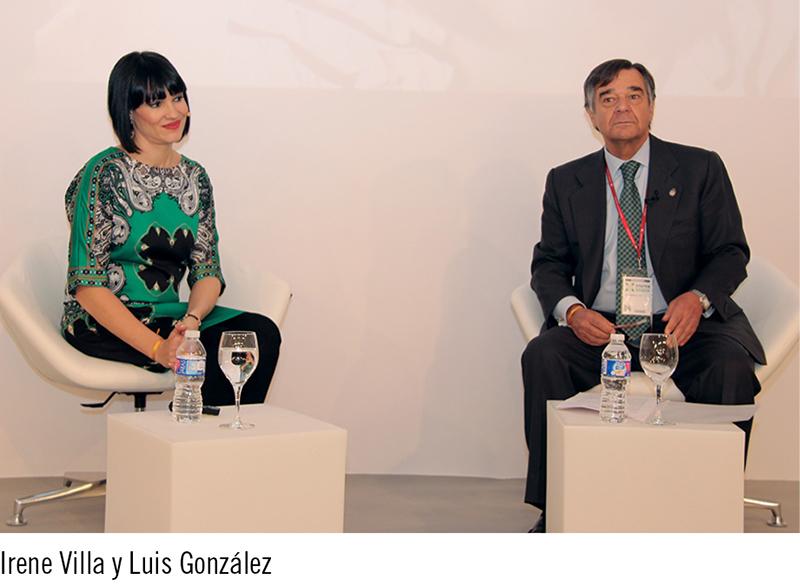 Irene Villa y Luis González