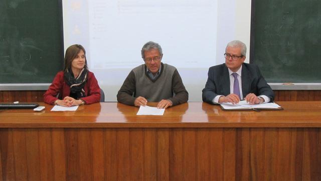 M. March, J. Esteva de Sagrera y J.M. Torres