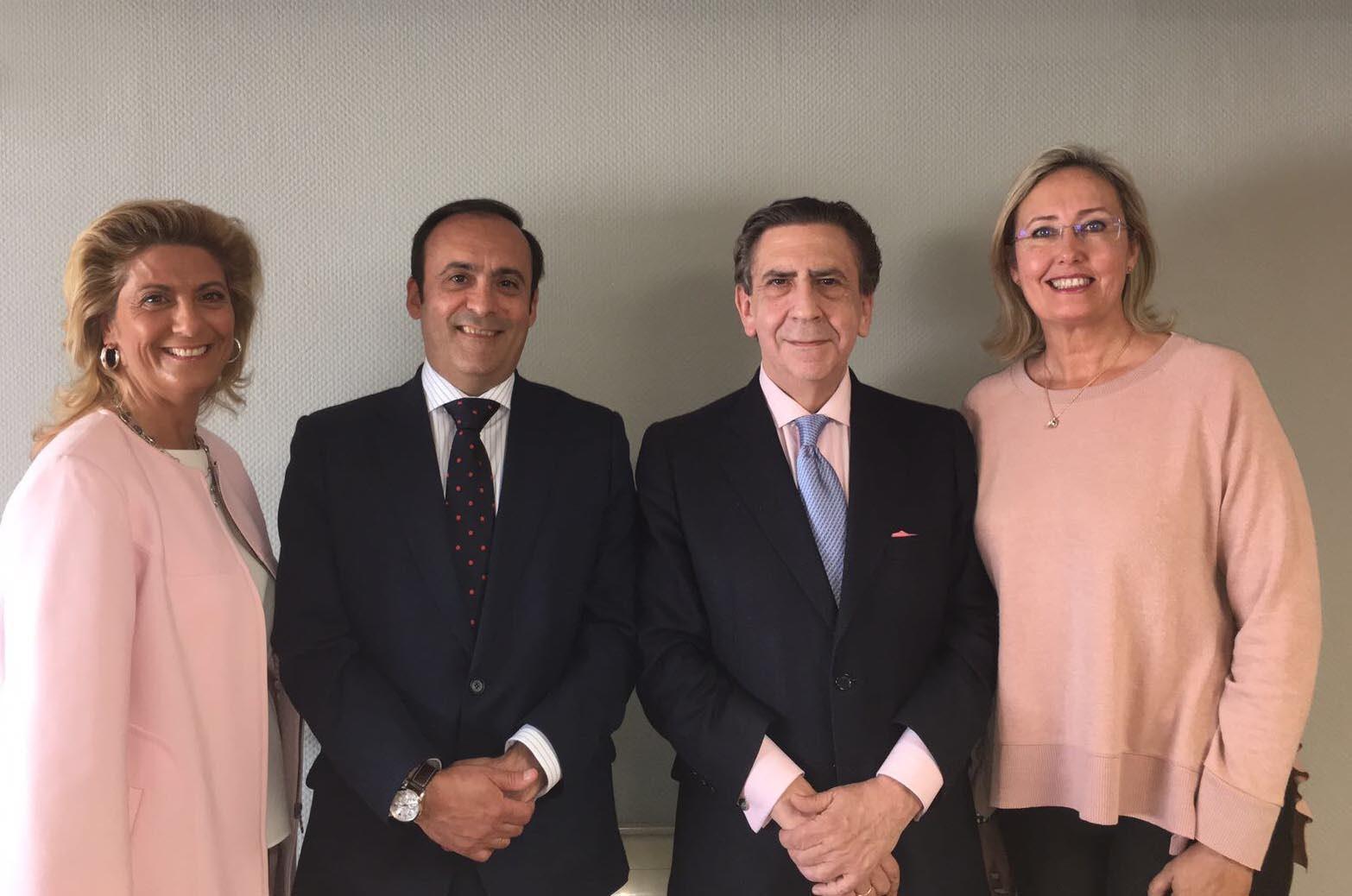 Miembros de la Comisión Permanente del Consejo Rector de Cofares: Soledad Muelas, Eduardo Pastor, Juan Ignacio Güenechea y Alicia Wildpret