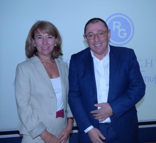 María Jesús Cancelo y Santiago Palacios