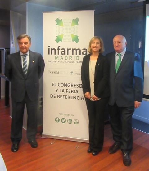 Luis González, Núria Bosch Sagrera y Daniel Sarto