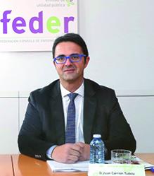 Juan Carrión, presidente de la FEDER