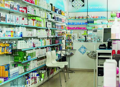 46 EF572 TRIBUNA SALVAGUARDANDO farmacia