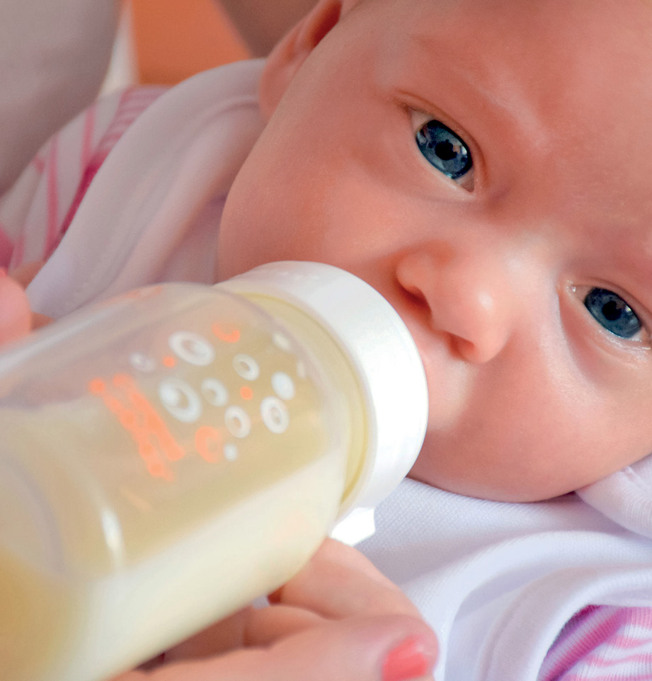 26 EF573 PROFESION ATENCION CUIDADOS bebe biberon