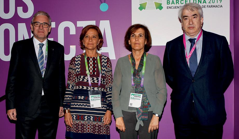 J. de Dalmases, C. Zara, B. Escribano y E. Esteve