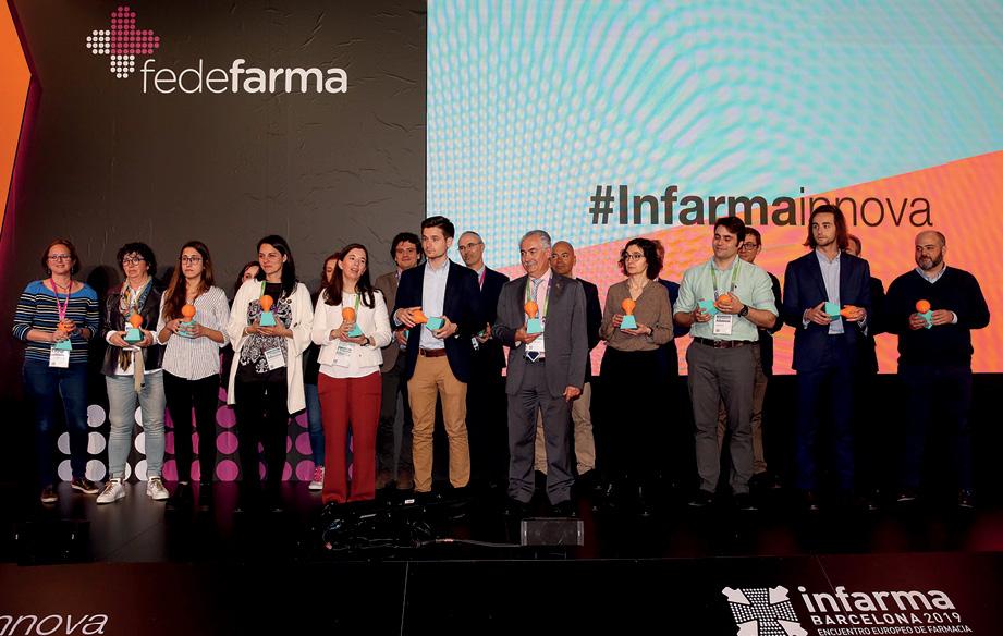 Foto de familia de los participantes en #InfarmaInnova