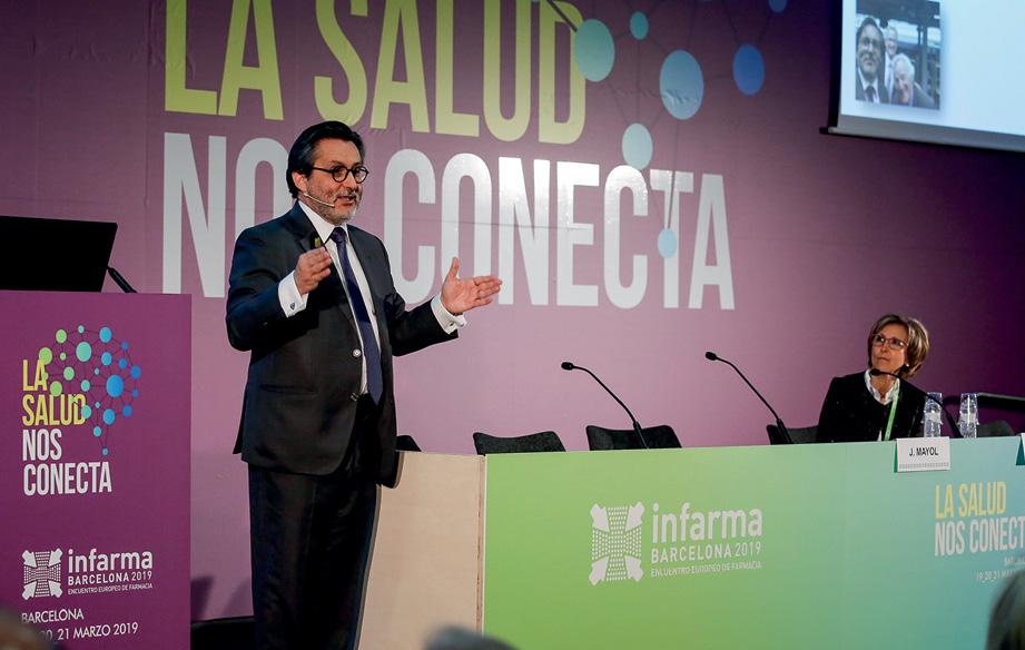 El Dr. Julio Mayol pronunció la conferencia inaugural