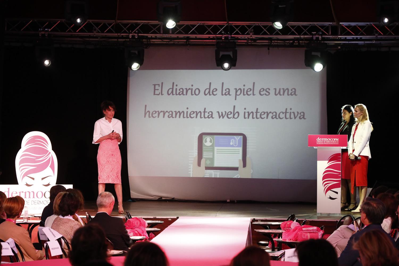 Rosalía Gozalo ha presentado el proyecto digital 'El diario de una piel'