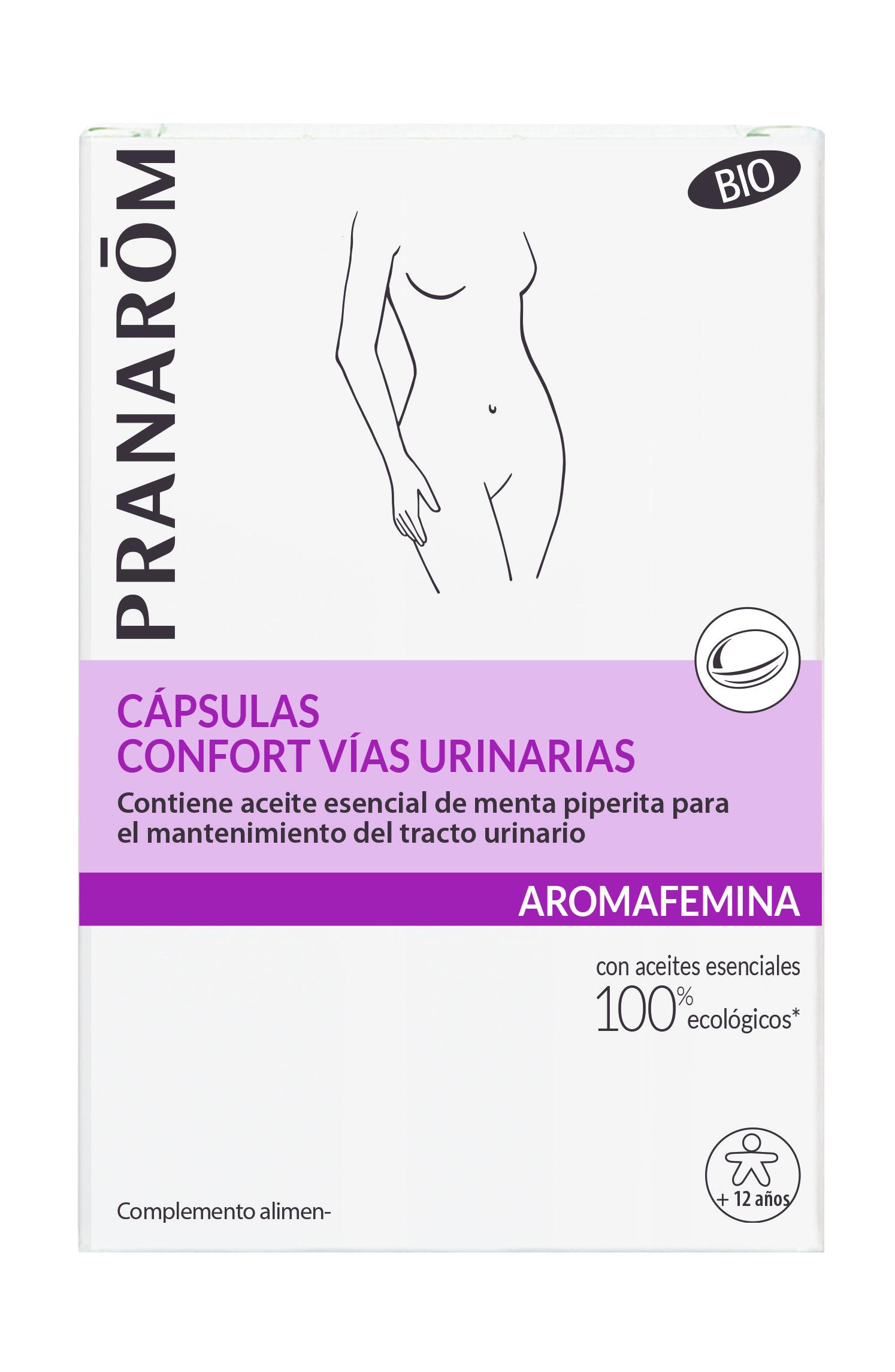 Aromafemina ES Capsules Confort voies urinaires Boite