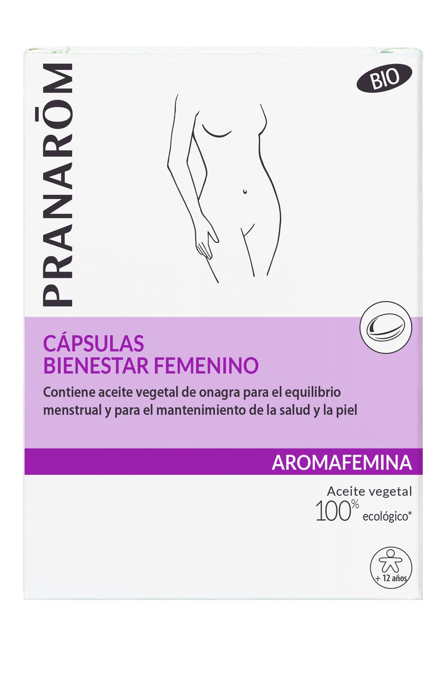 Aromafemina ES Capsules bien etre feminin Boite
