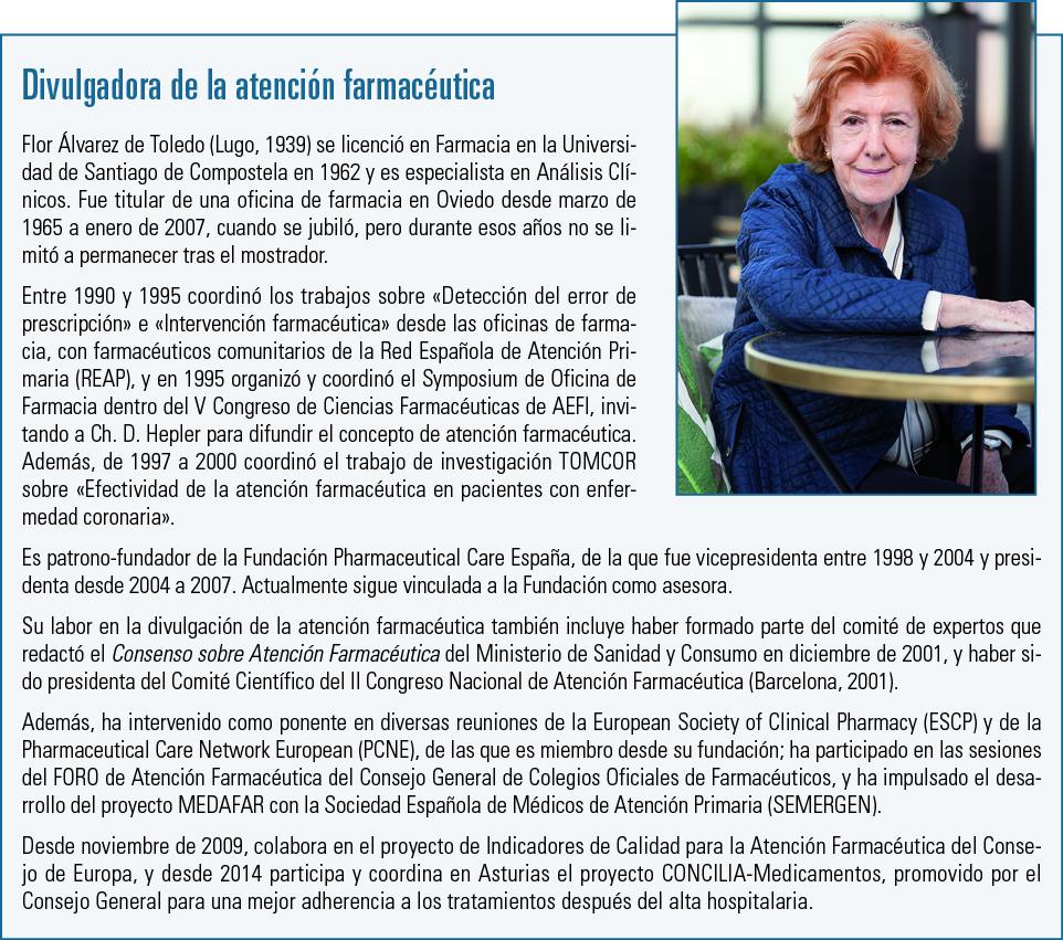 10 EF584 MUJER Y FARMACIA Flor Alvarez de Toledo cuadro