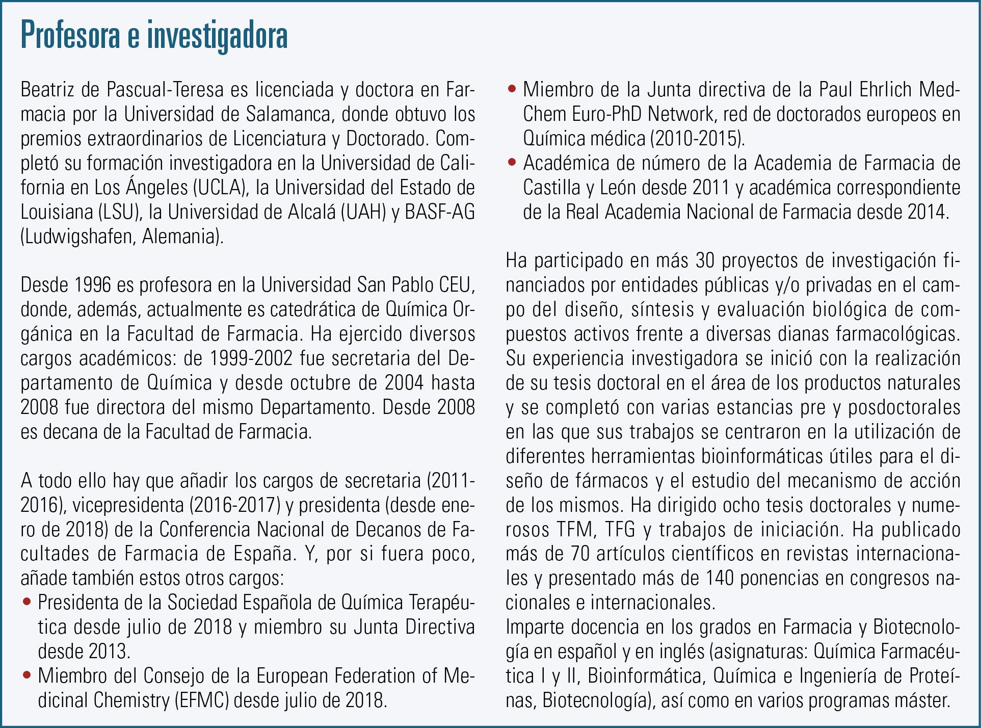 12 EF586 MUJER Y FARMACIA Beatriz de Pascual recuadro