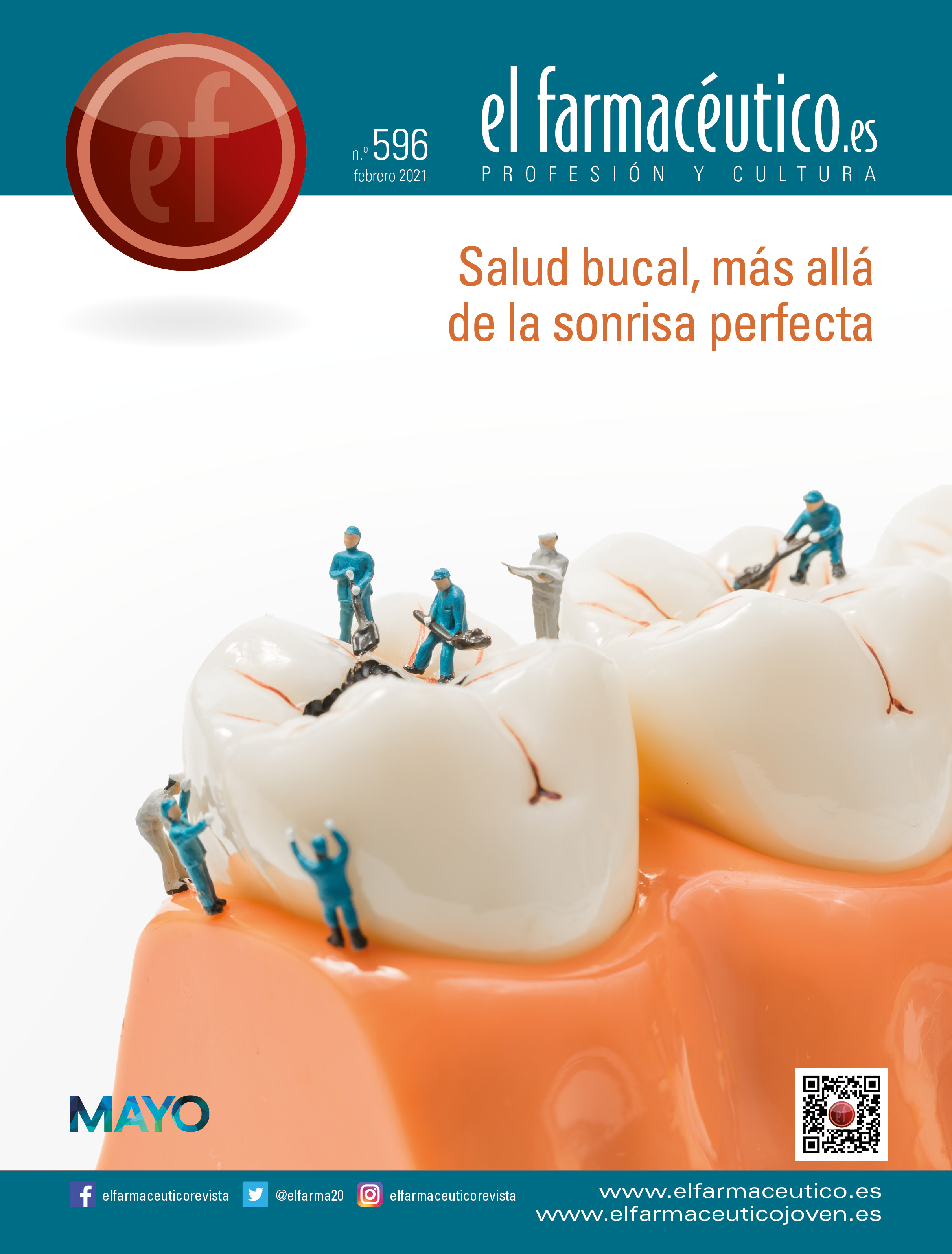 00 PORTADA EF 596   salud dental