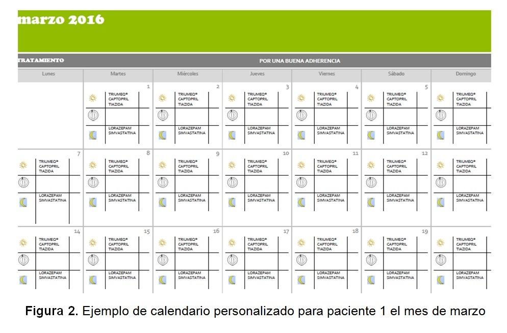 Famoso Plantilla De Calendario De Medicación Diaria Ideas ...
